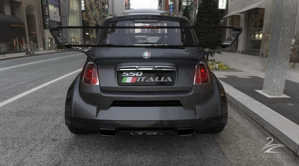 準備『起飛』是嘛!Lazzarini Design將推出搭載Ferrari F136 V8雙渦輪引擎的『Fiat 500 Itlia』