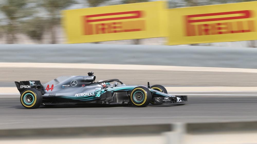 中國GP自由練習一Hamilton最快