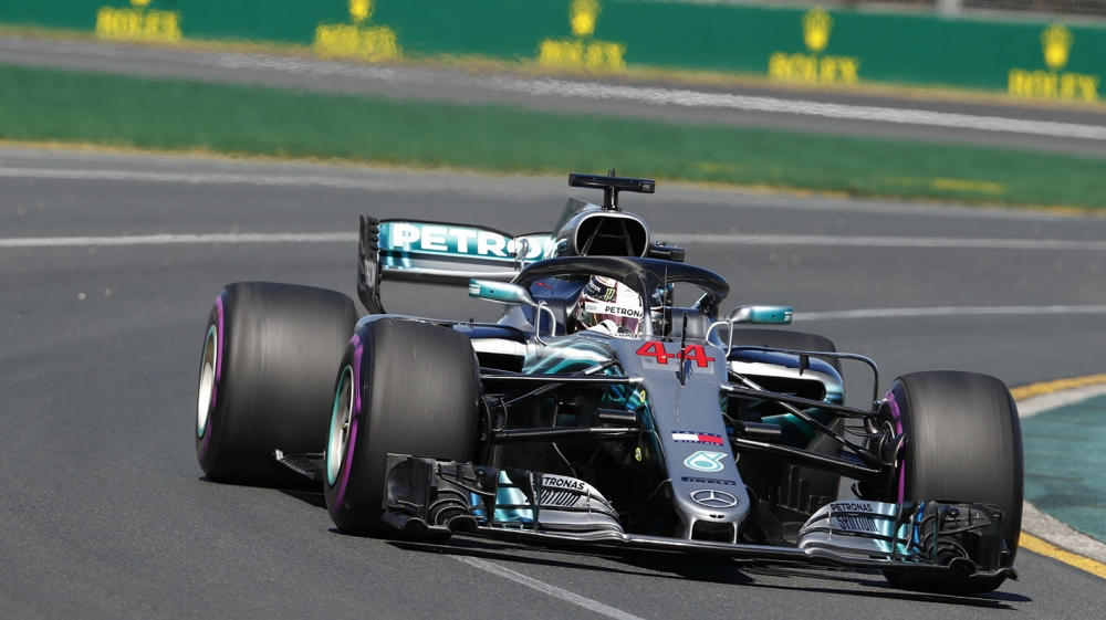 中國GP自由練習二Mercedes與Ferrari勢均力敵