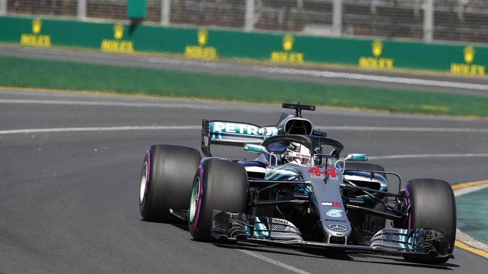 Hamilton輕取澳洲GP竿位而隊友Bottas撞車
