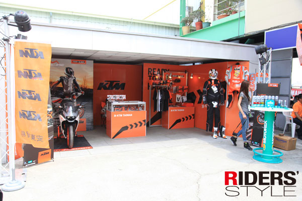 KTM ORANGE DAY in K1 / RC390正式登台!