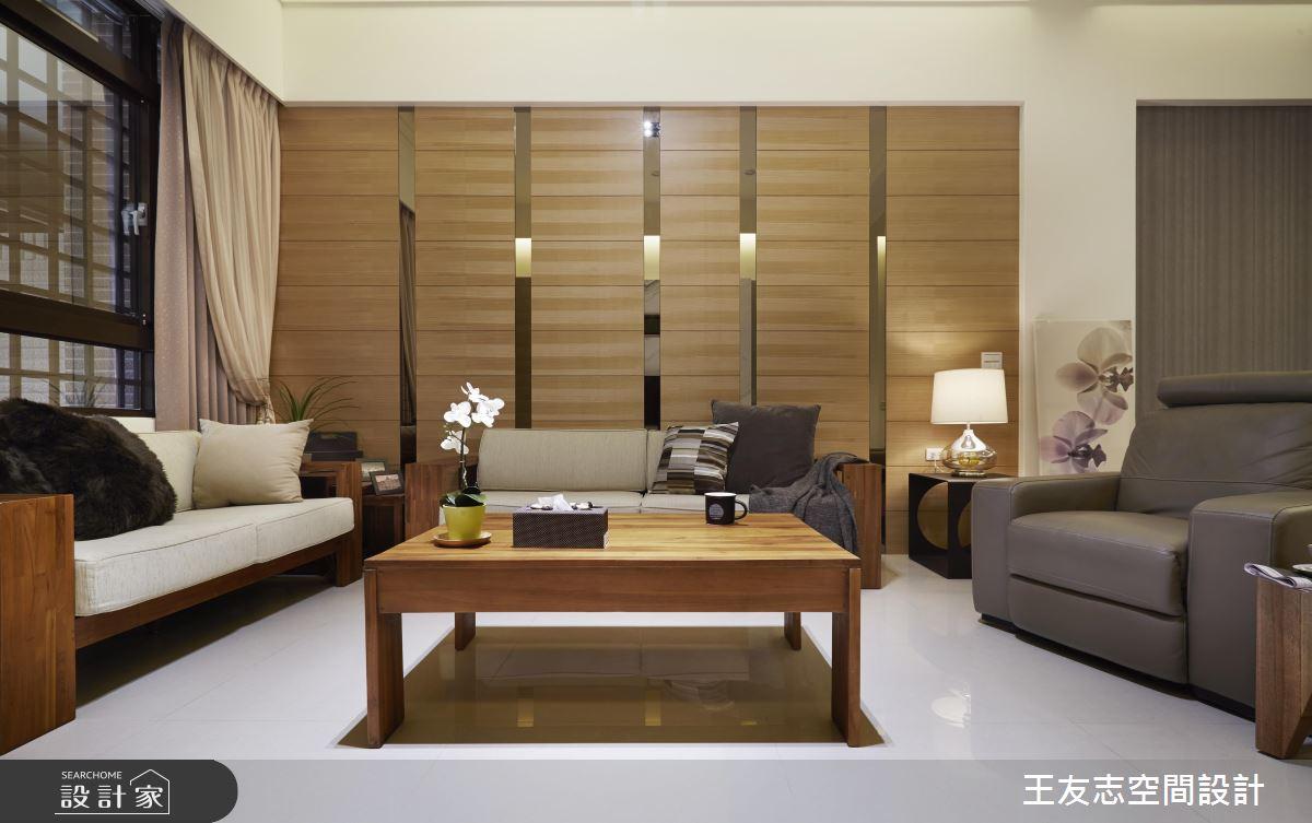 現代簡約的原木質感透天別墅 天天都像在度假!