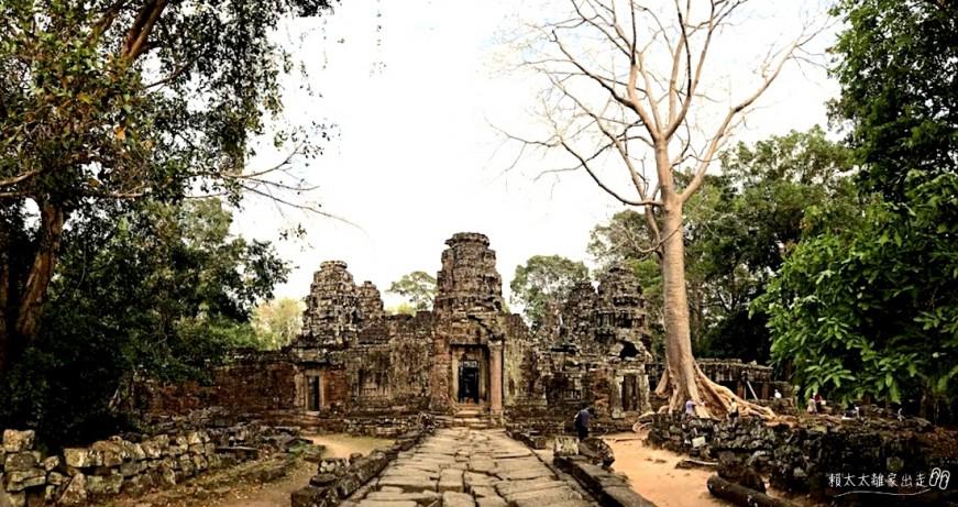 柬埔寨︱吳哥窟之班蒂喀黛 Banteay Kdei:恬靜清幽的佛寺,與千年老樹邂逅黃昏時
