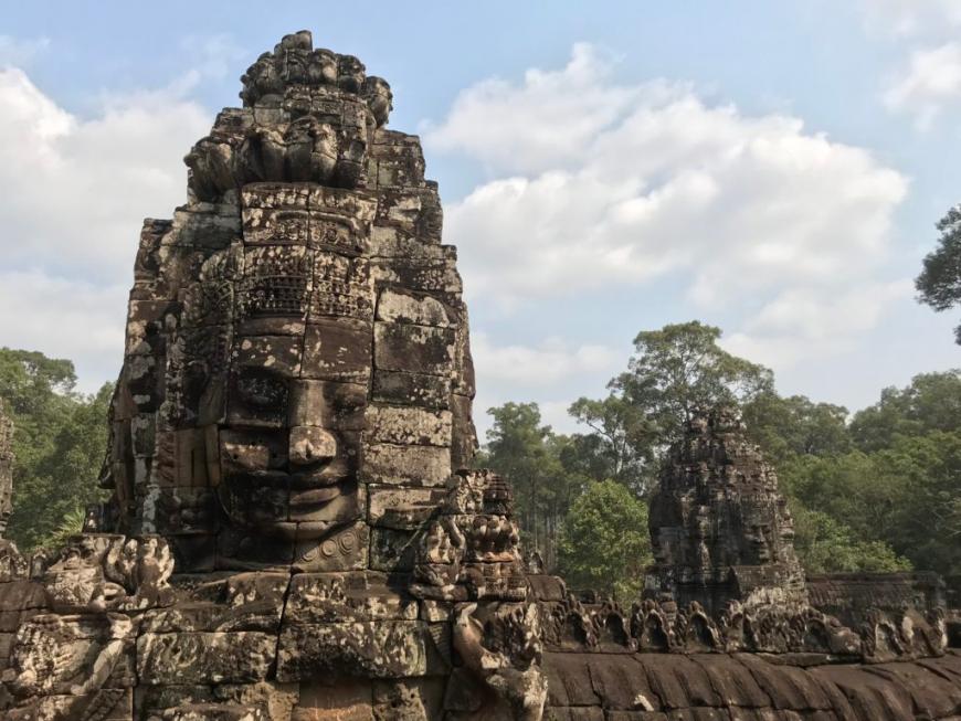 柬埔寨︱吳哥窟之巴揚寺 Bayon:微笑的石刻佛像,高棉帝國的最後一座國廟