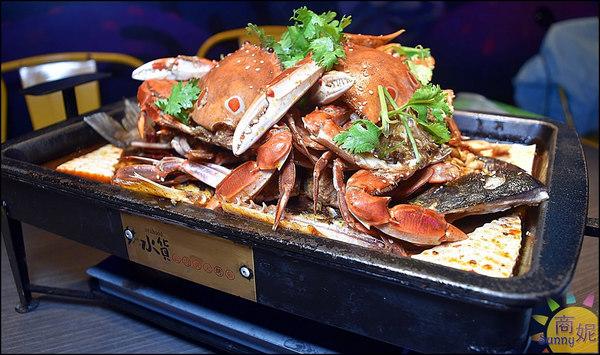 水貨螃蟹烤魚1
