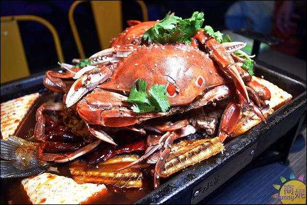 水貨螃蟹烤魚7