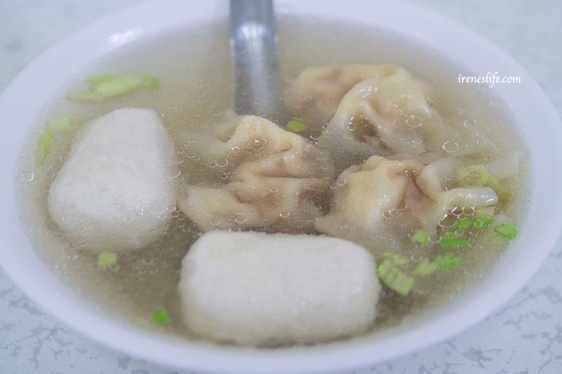 魚丸餛飩湯