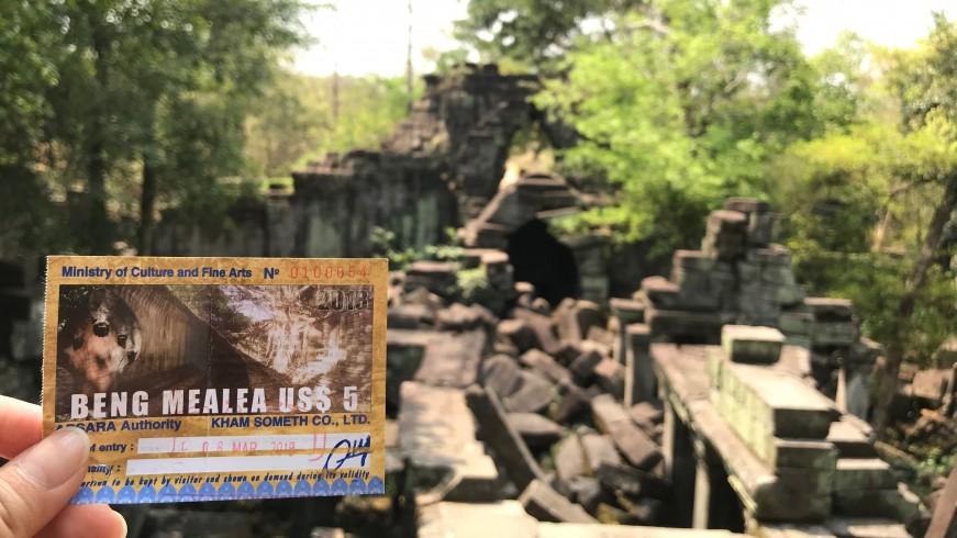 柬埔寨︱吳哥窟之崩密列 Beng Mealea:殘破卻依舊美麗的天空之城