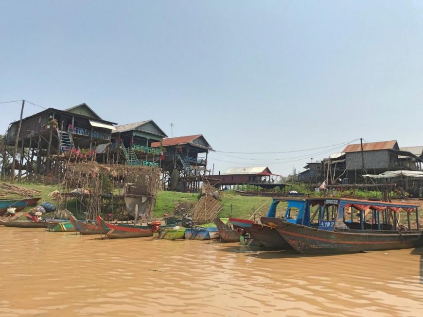 柬埔寨︱吳哥窟之洞里薩湖 Tonle Sap:空邦魯遊船體驗,一睹最真實的水上高腳屋