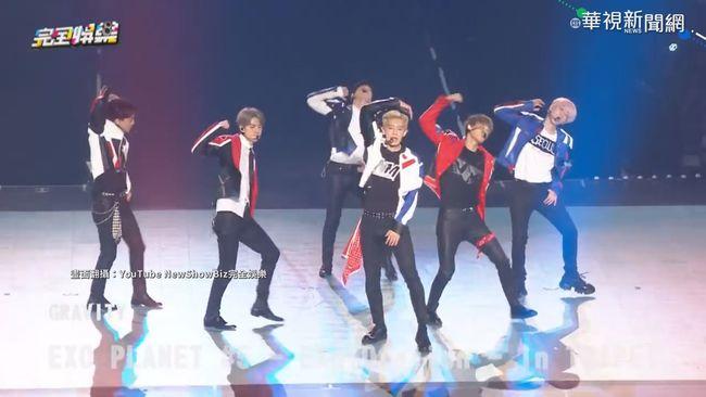 EXO週末攻蛋開唱 韓星演唱會票房王