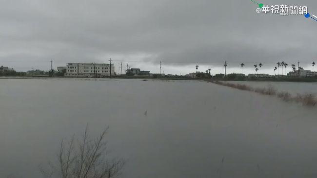 米塔挾風雨掃台 宜蘭積水淹腳踝