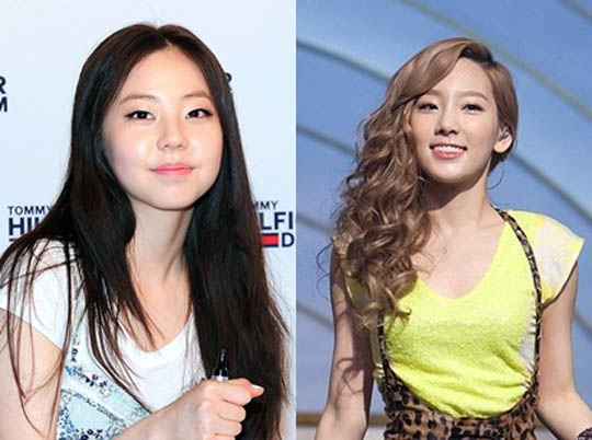 Wonder Girls成員昭熙、少女時代成員太妍