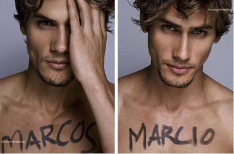 /p p        超帥! 巴西雙胞胎男模電眼、六塊肌燃起女性慾火/p p