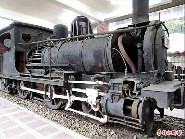 蒸汽火车头结构图;