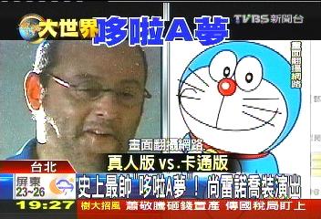 「哆啦A夢」真人版! 國際巨星尚雷諾演出