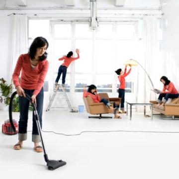 نظافة وترتيب المنزل