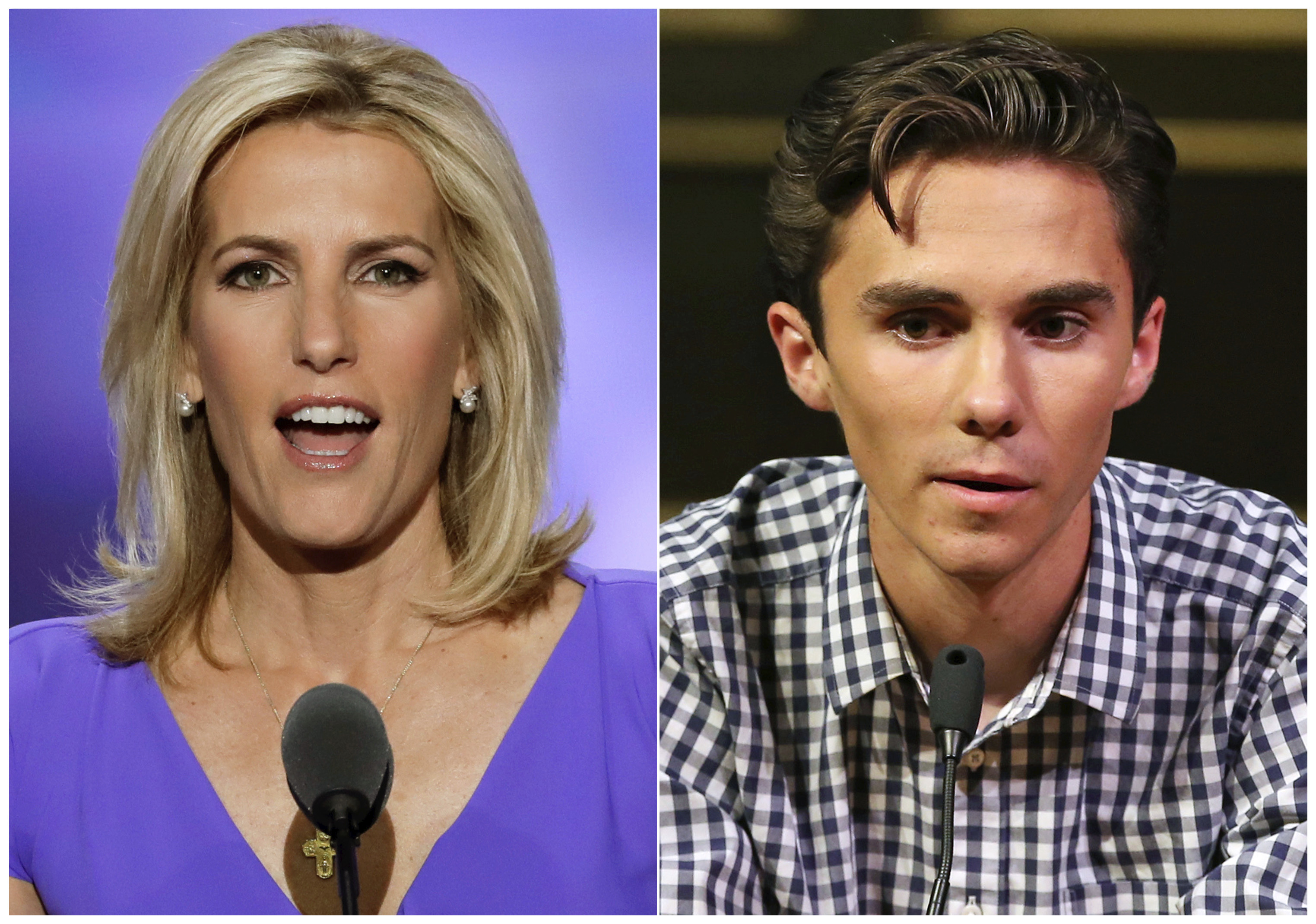 NEWS BITES: David Hogg calls Laura Ingraham a bully, teachers plan large walkout, SpaceX prepares for launch
