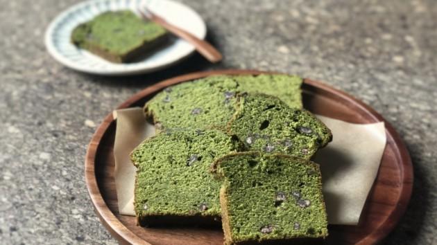 | 附影片| 宇治抹茶磅蛋糕