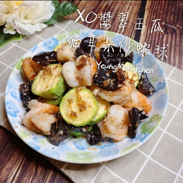 XO醬翠玉瓜貓耳朵炒蝦球 - Yahoo奇摩新聞