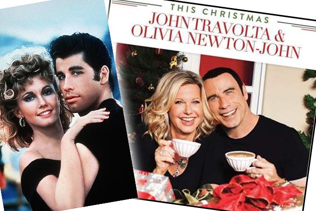"""John Travolta singt auf Weihnachts-Album mit """"Grease""""-Star ..."""
