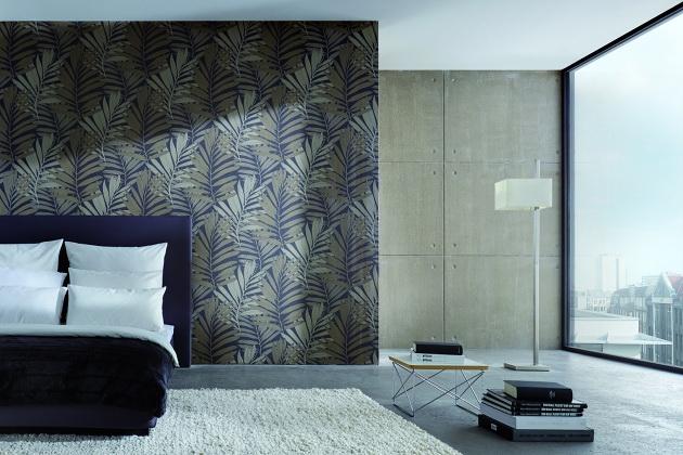 wohnidee design tapeten von michalsky living. Black Bedroom Furniture Sets. Home Design Ideas