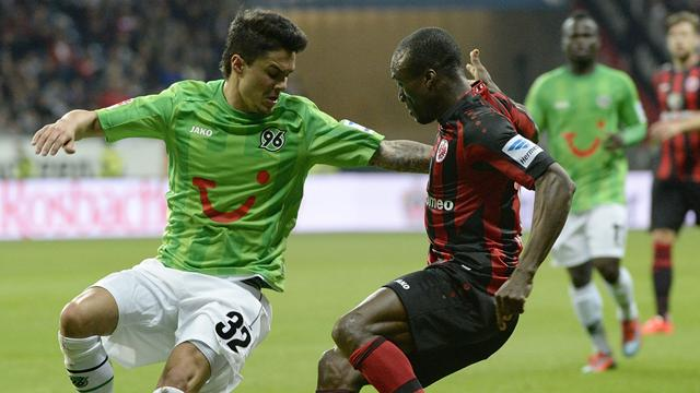 Video: Eintracht Frankfurt vs Hannover 96