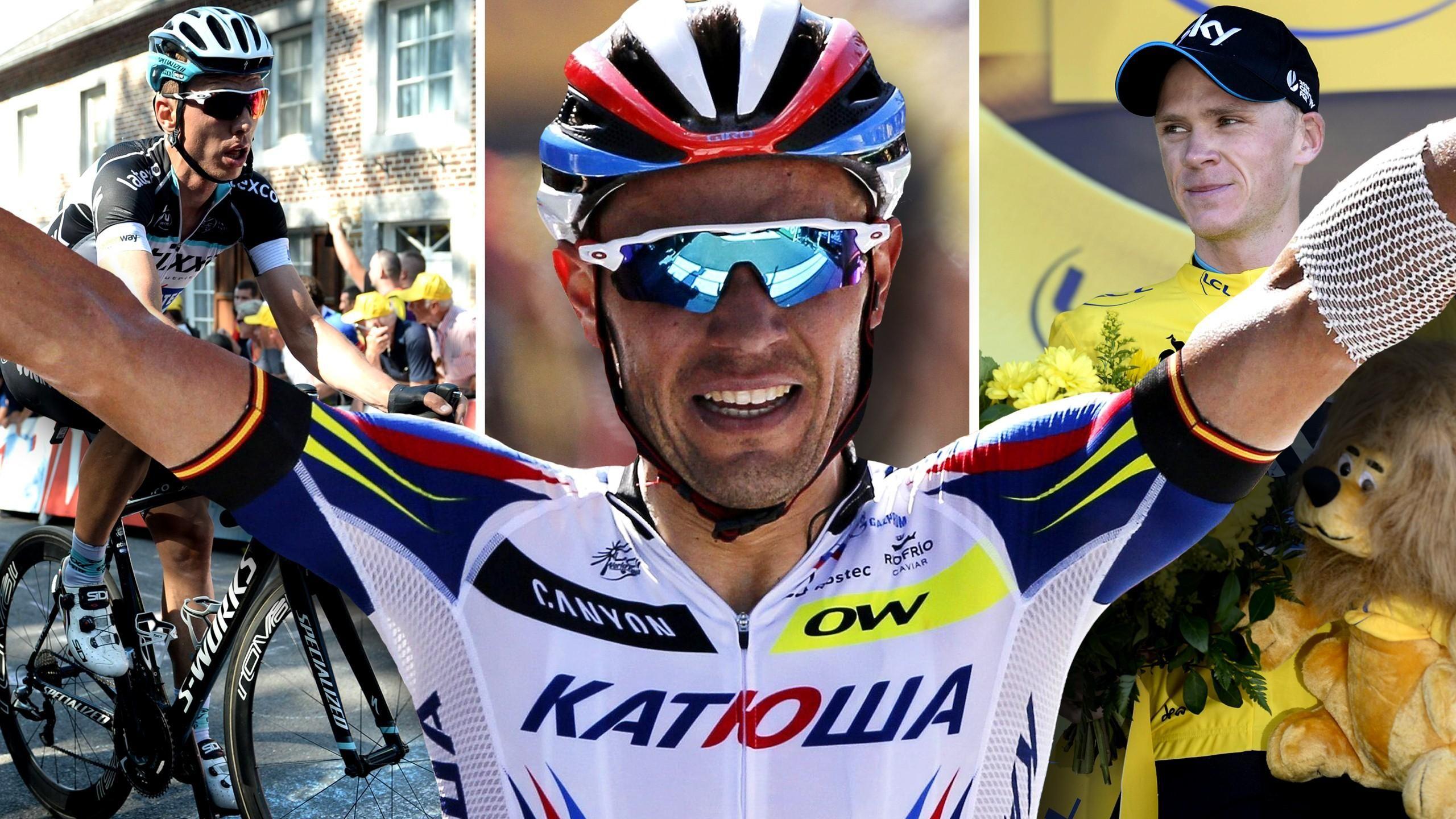"""Tour de France - Martin verpasst Gelb hauchd�nn an der """"Mauer von Huy"""", Rodr�guez siegt"""