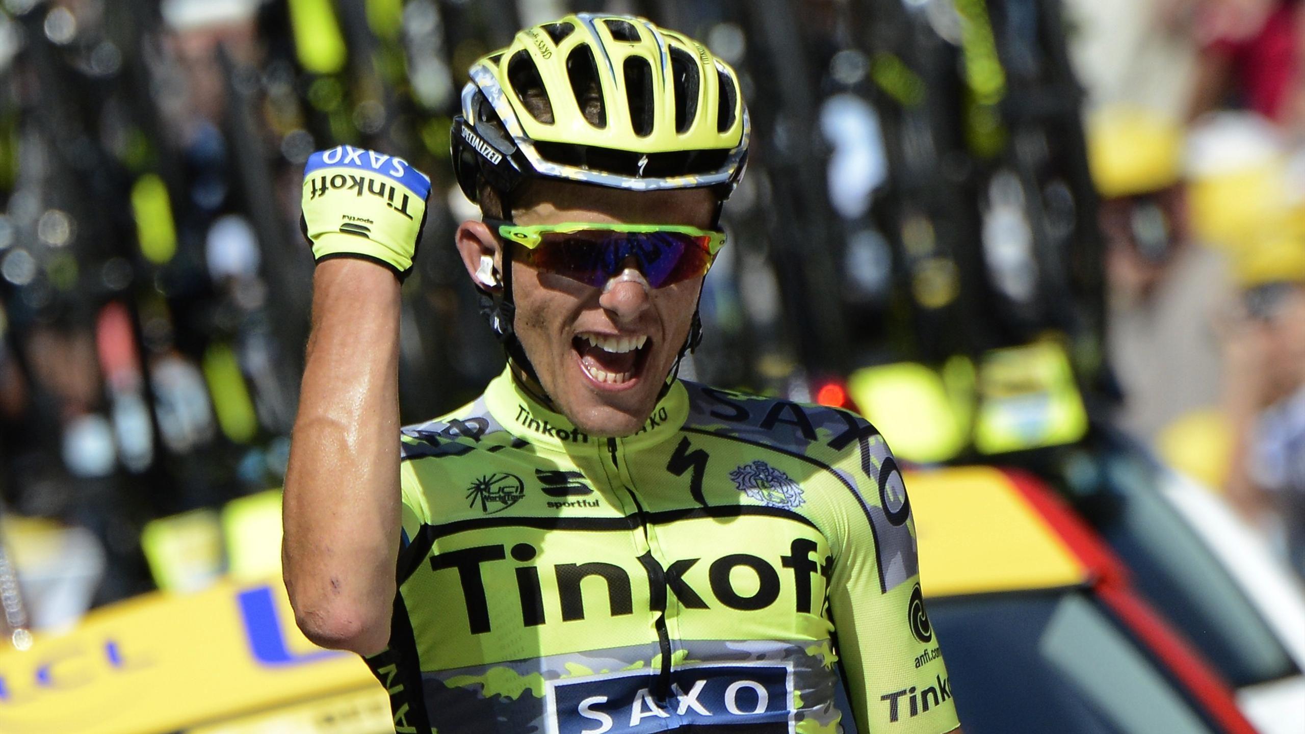 Tour de France - Solo-Sieg f�r Majka bei Pyren�en-Ritt