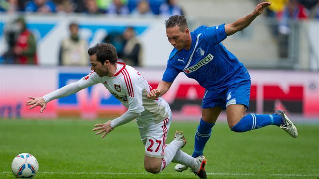 Bayer siegt gl�cklich gegen Hoffenheim