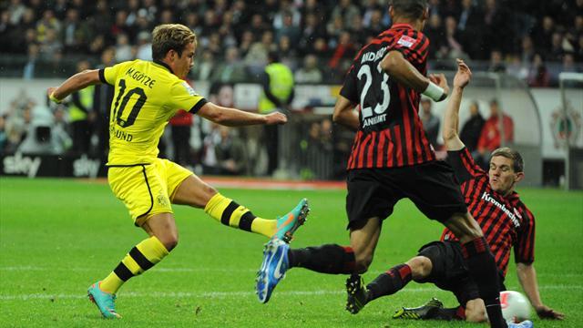 Bundesliga - Quickfacts: Borussia Dortmund gegen Eintracht Frankfurt