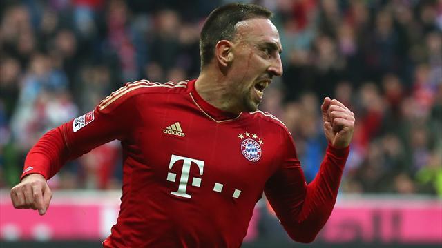 Bundesliga - Bayern mit Arbeitssieg �ber Frankfurt