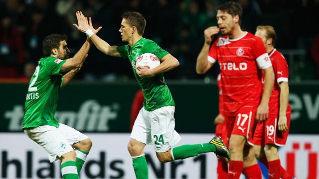 Bundesliga - S��er Werder-Sieg nach R�ckstand