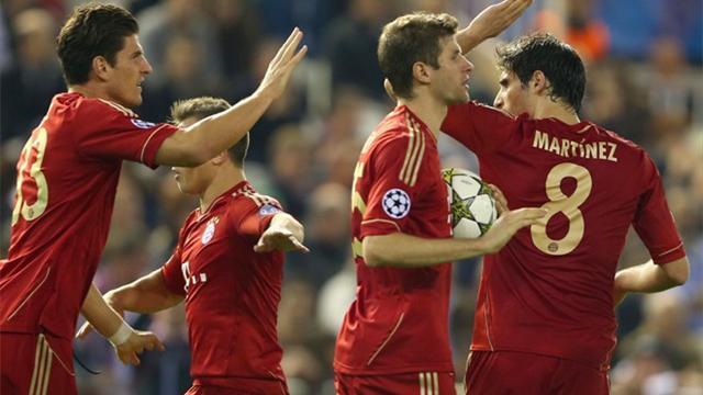 Champions League - Bayern im Achtelfinale: M�ller trifft in h�chster Not