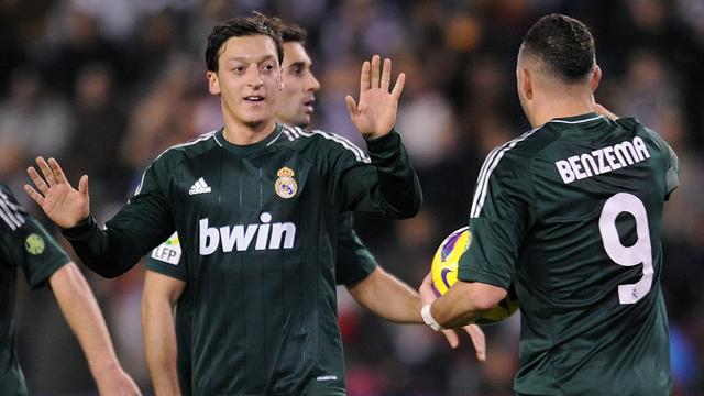 Liga - �zil schie�t Real Madrid zum Sieg