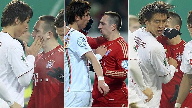 DFB Pokal - Riesen�rger nach Rib�ry-Rot