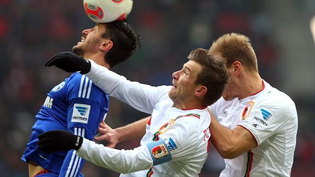 Bundesliga - Schalke stagniert, Augsburg im Aufwind