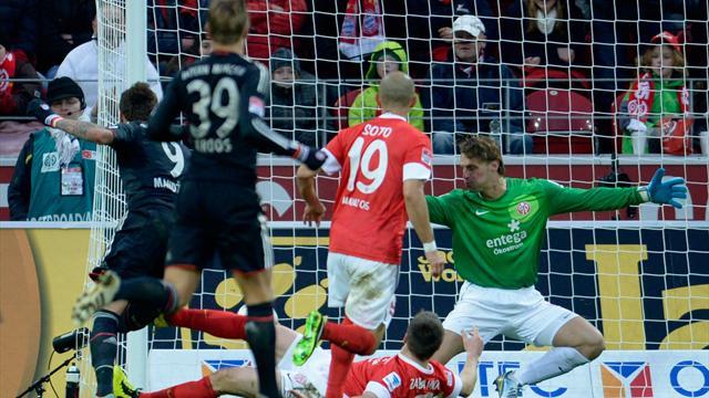 Bundesliga - Eiskalte Bayern siegen auch in Mainz