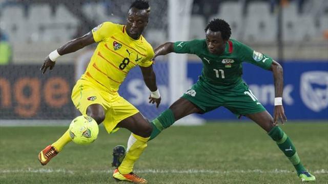 Afrika-Cup - Au�enseiter Burkina Faso ringt Togo nieder
