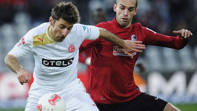 Bundesliga - Freiburg schie�t sich auf Platz f�nf