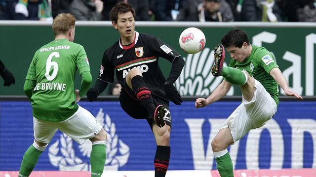 Bundesliga - Augsburg st�rzt Werder in die Krise