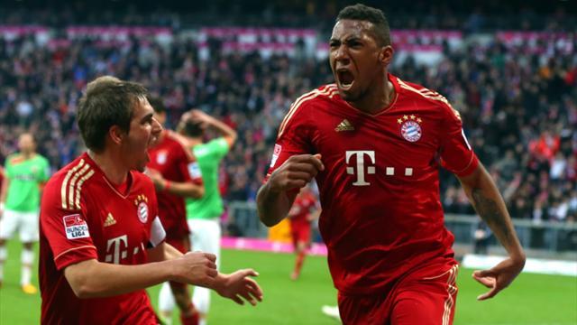 Bundesliga - Boateng k�pft Bayern zum Sieg