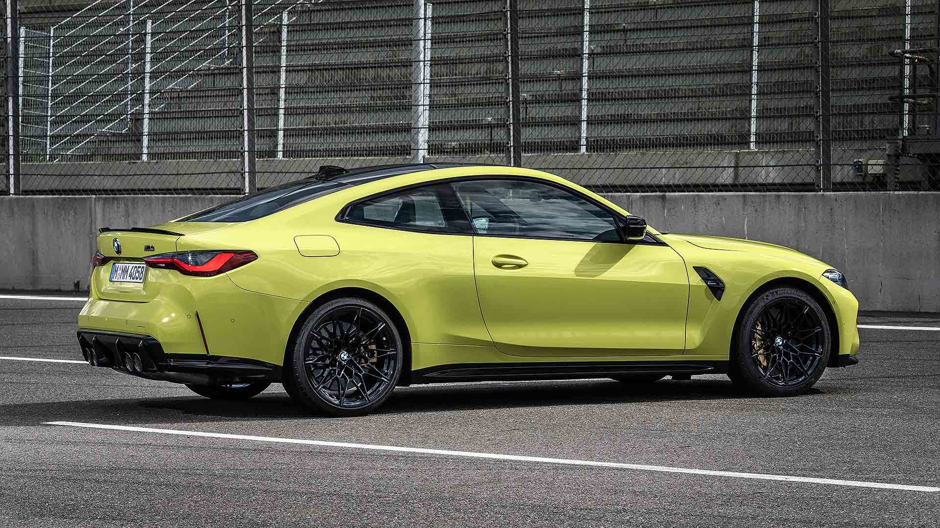 2021 BMW M4 Competition