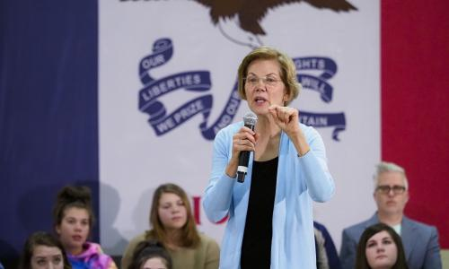 The best chance we have to elect a real progressive since FDR': on the phone with Elizabeth Warren