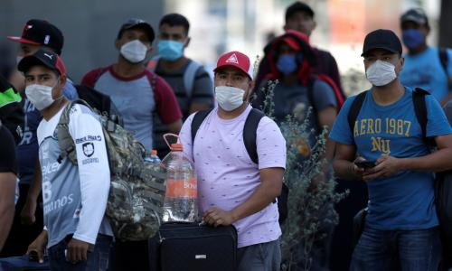How coronavirus has halted Central American migration to the US