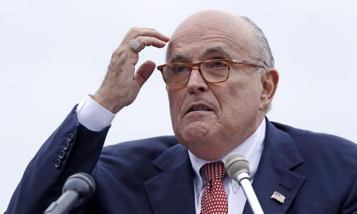 Legal storm clouds gather over Rudy Giuliani, Americas tarnished mayor