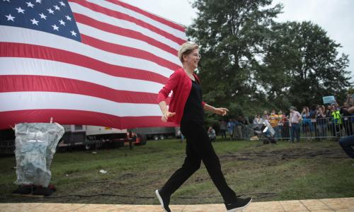 Elizabeth Warren could win Iowa caucuses by virtue of showing up