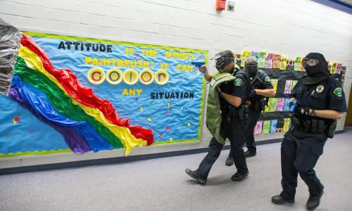 A gun is fired on US school grounds twice a week, database reveals