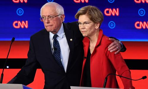 How Warren surged past Sanders – and how he fought back