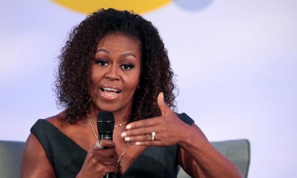 Michelle Obama says white Americans still running from black neighbors