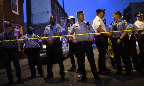 Philadelphia mayor calls for gun control action after officers injured in standoff